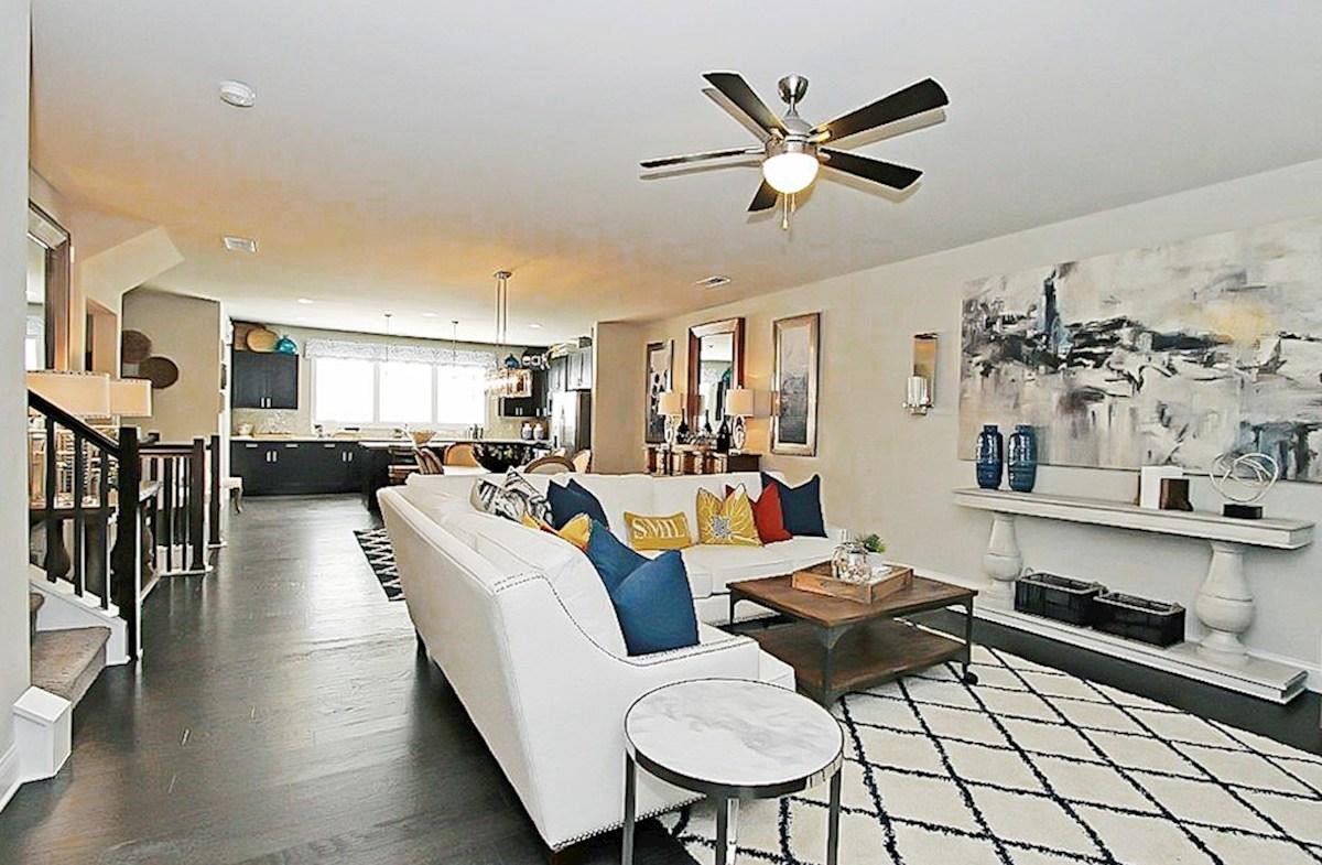 Robinson Park Piedmont Open Concept Living Room