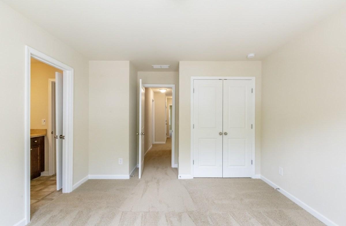 Burton quick move-in Secondary Bedroom with a bathroom