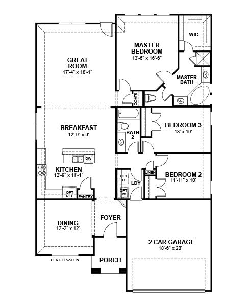 Beazer Homes Floor Plans - Flooring Ideas and Inspiration