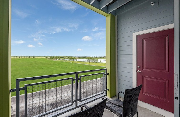 Gatherings® of Lake Nona Dogwood balcony