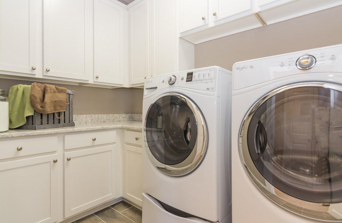 Oakwood laundry room