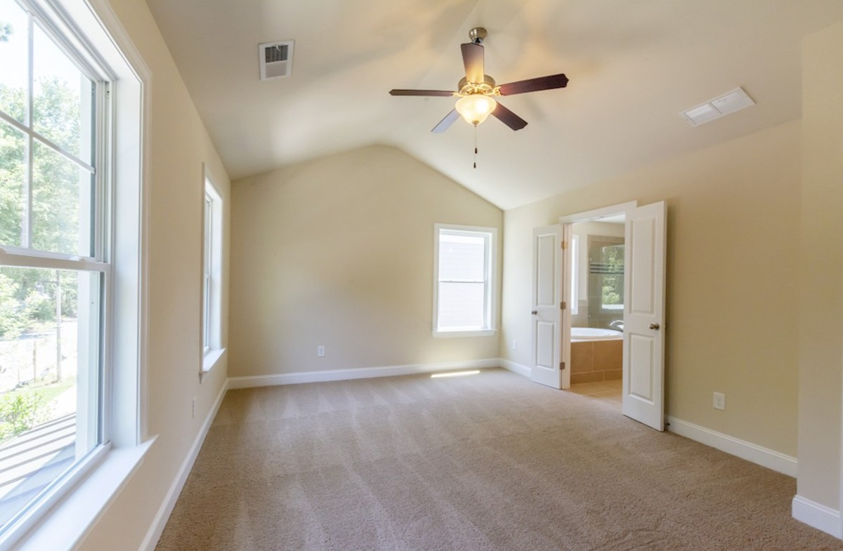 Langley quick move-in Master Bedroom with ceiling fan