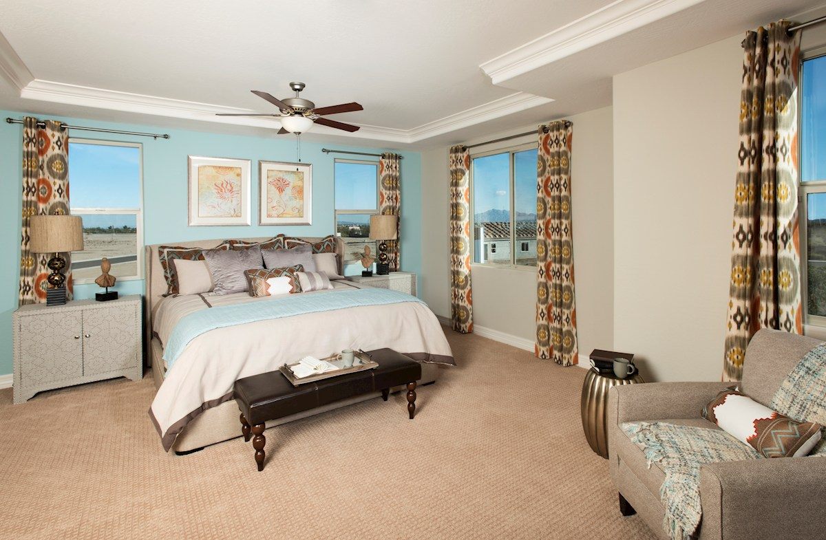 Mountain Trails Ashburn spacious bedrooms