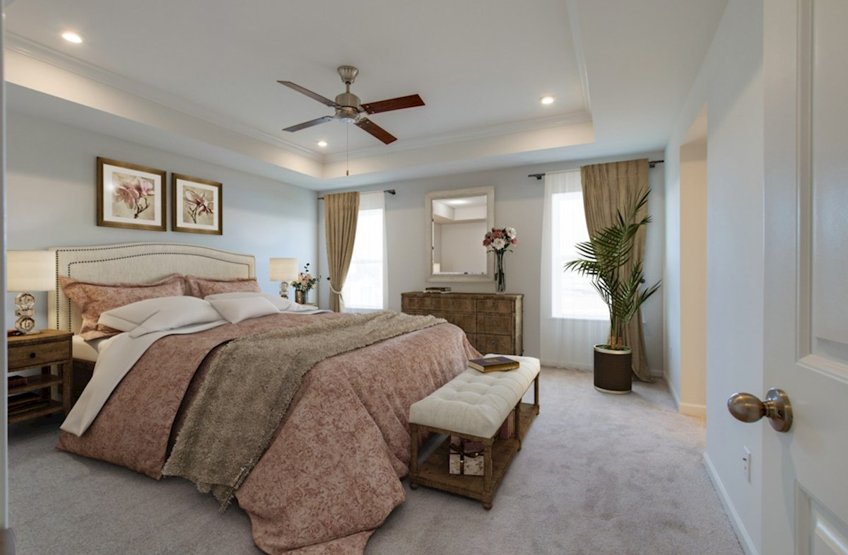 Ashford quick move-in gracious master bedroom