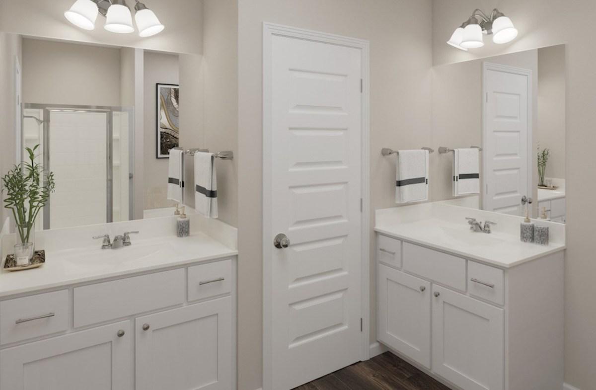 Hampton Place Waverly Waverly master bathroom