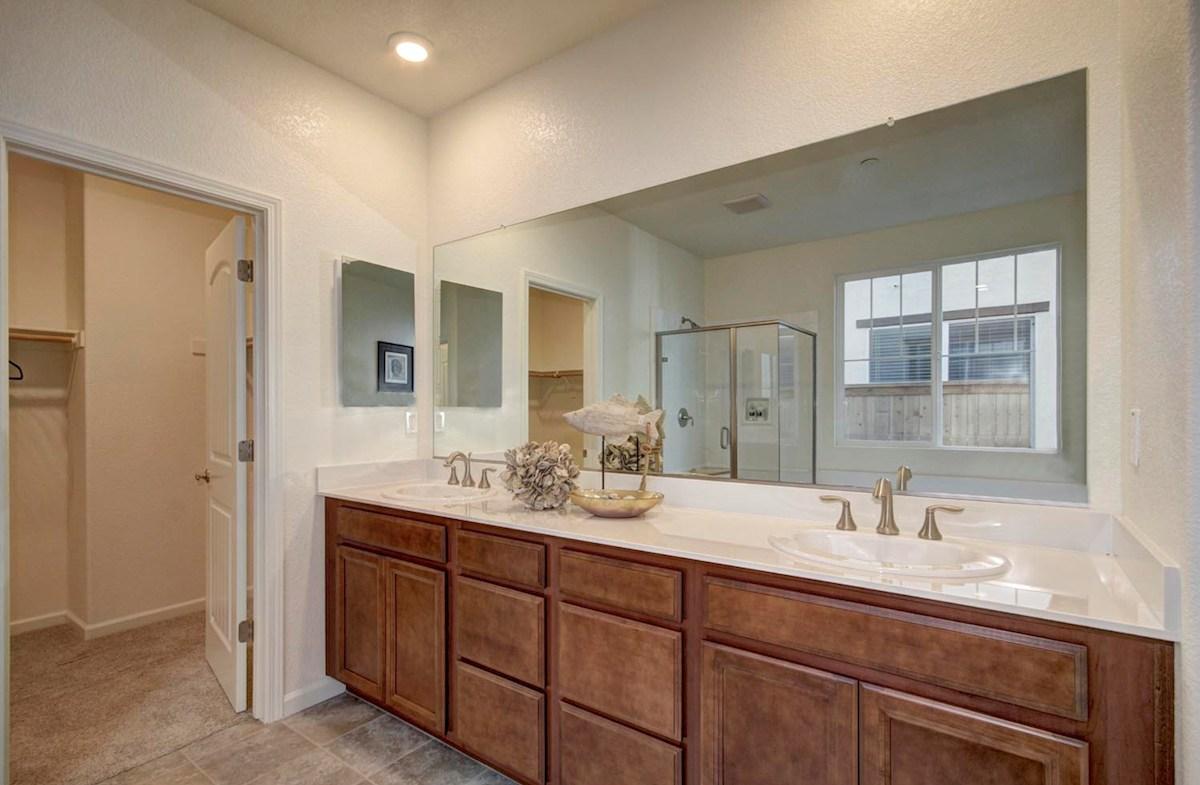 Natomas Field Residence 3 Rancho Corova, CA new homes Bungalows master bath