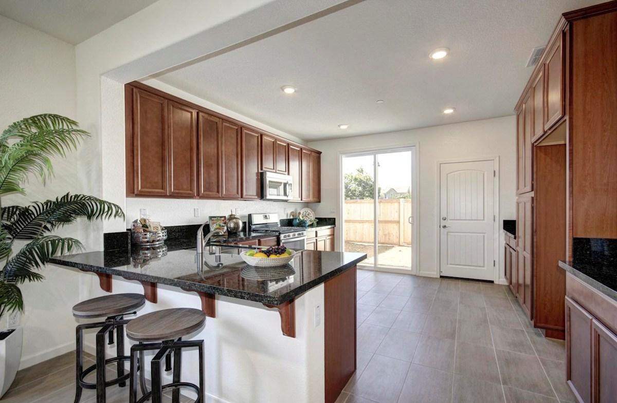 Natomas Field Residence 3 Rancho Cordova, CA new homes Bungalows kitchen