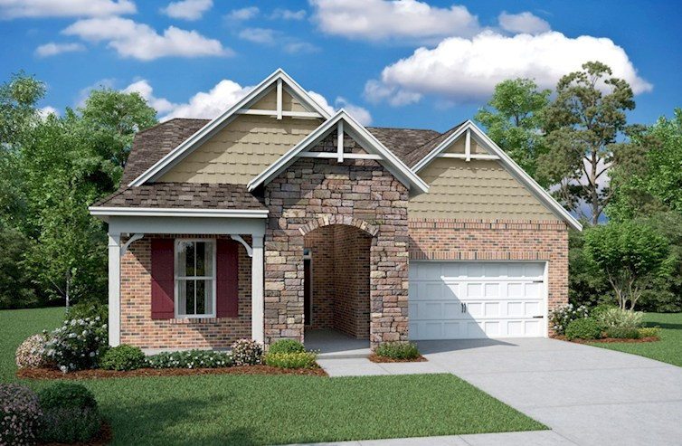 Baxter Elevation French Country P
