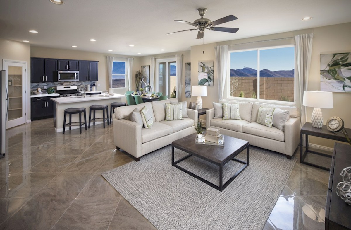 Hamilton Place Mesquite  open great room