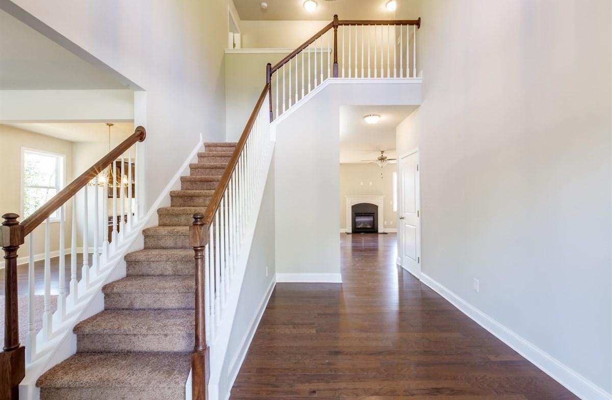Bradshaw quick move-in Foyer with hardwood floors