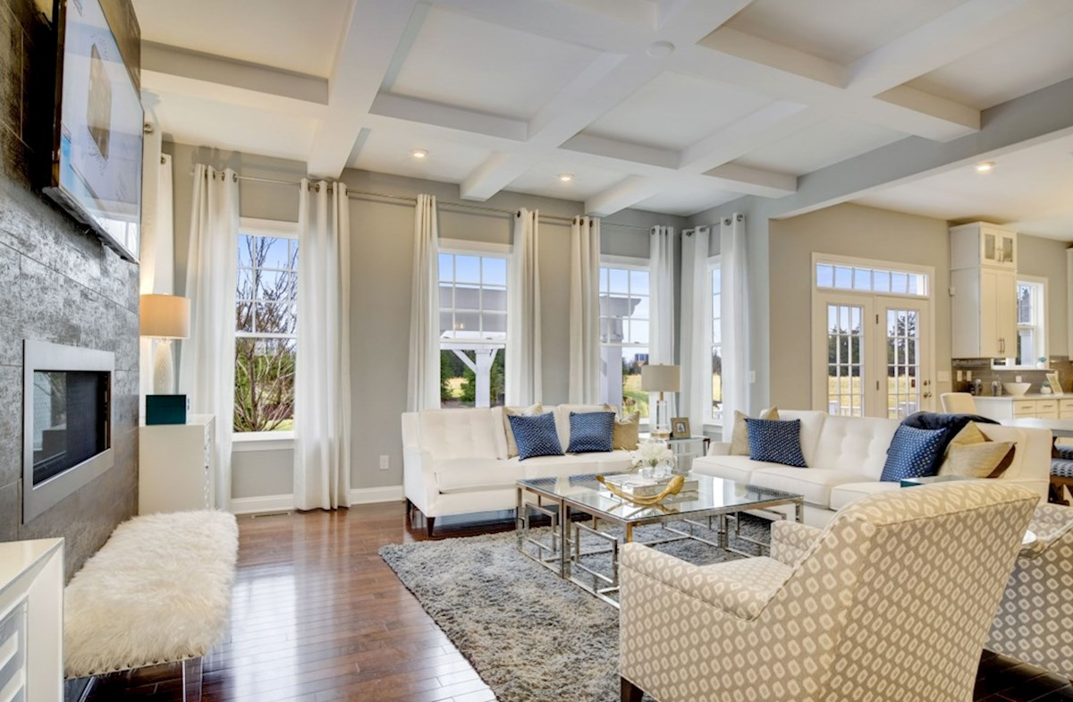 Willowsford Brighton expansive family room