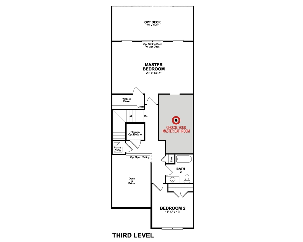 4th Floor floor plan