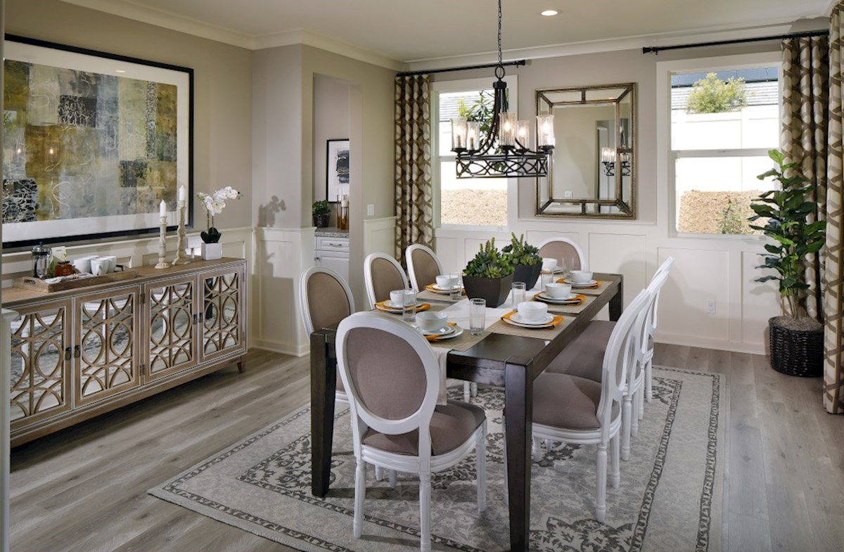 Solstice Indigo Formal dining room for family meals