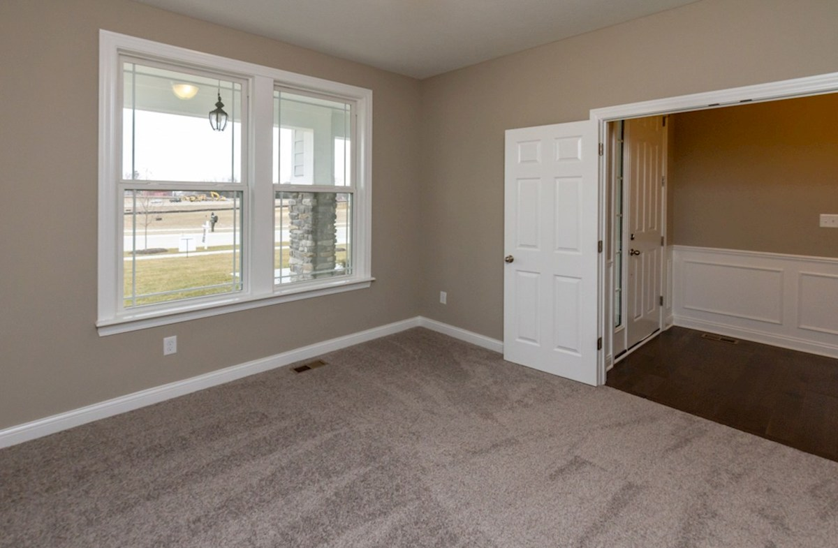 Capitol quick move-in home office with double door entry