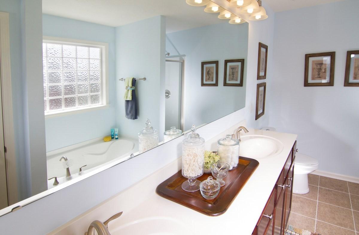 Shadow Creek Farms Hartford Owner's Bathroom