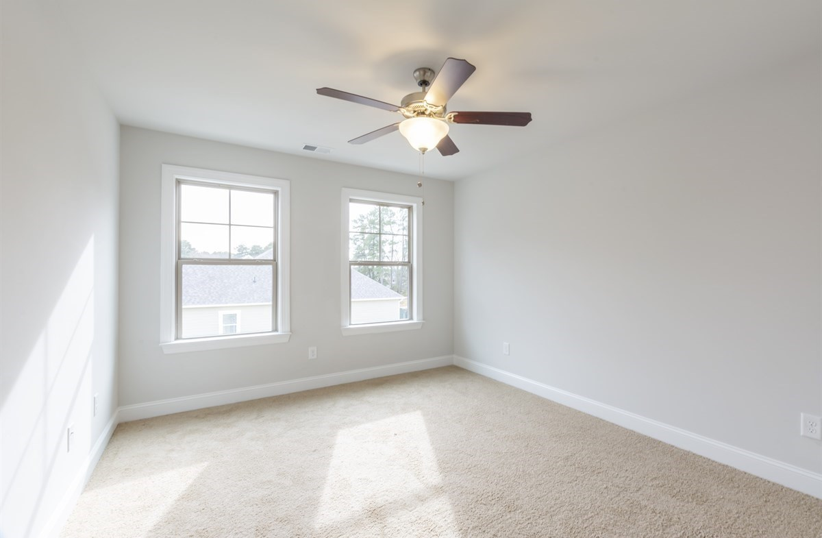 Piedmont quick move-in Secondary Bedroom With Ceiling Fan