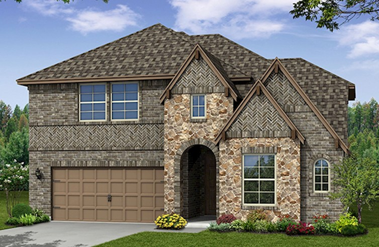 Summerfield Elevation Traditional M