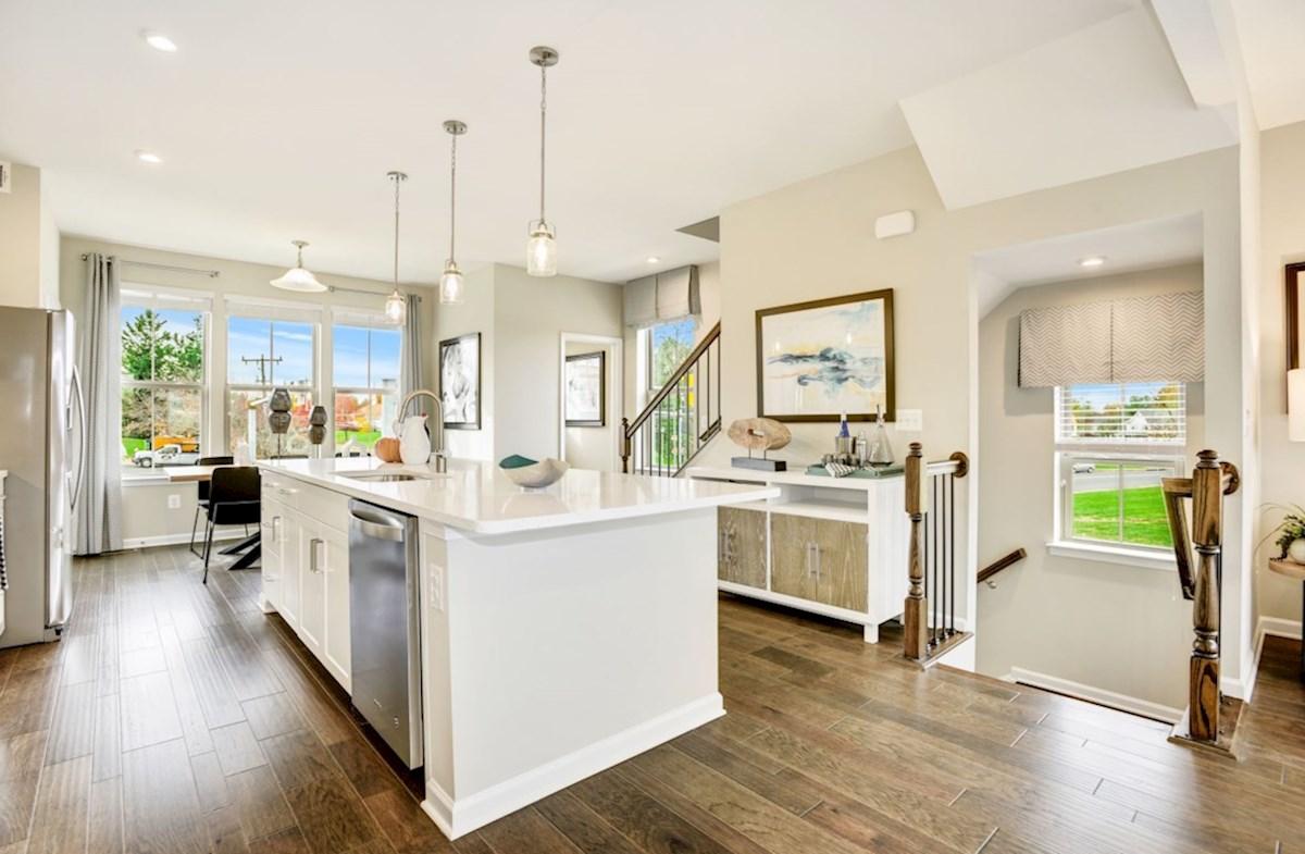 Leesburg Place Kennedy modern kitchen