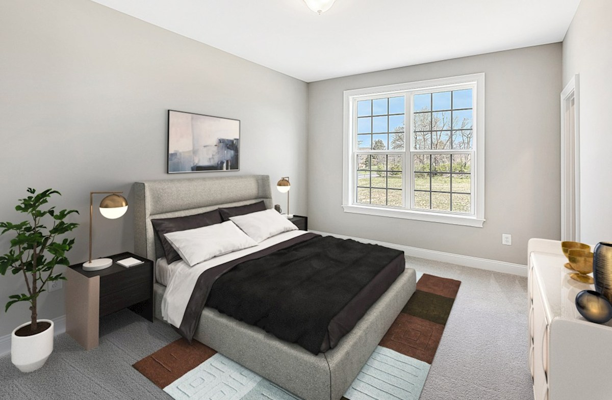 Enclave at River Hill Kingston Kingston secondary bedroom with plenty of natural light