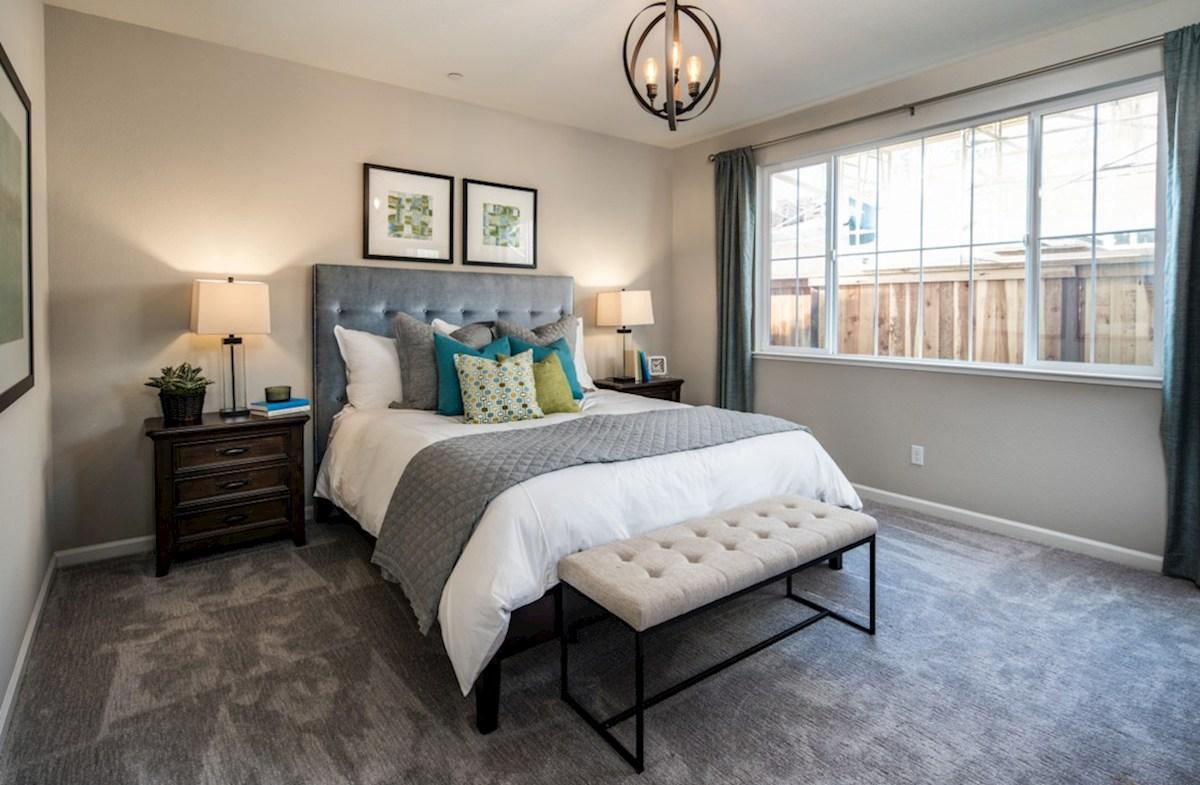 Natomas Field Residence 3 master bedroom