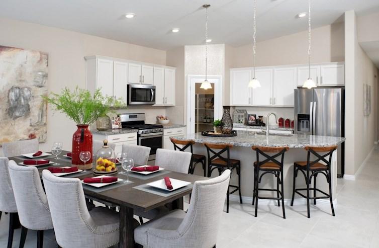 Dorrell Estates Zion walk-in pantry in the ZIon Kitchen