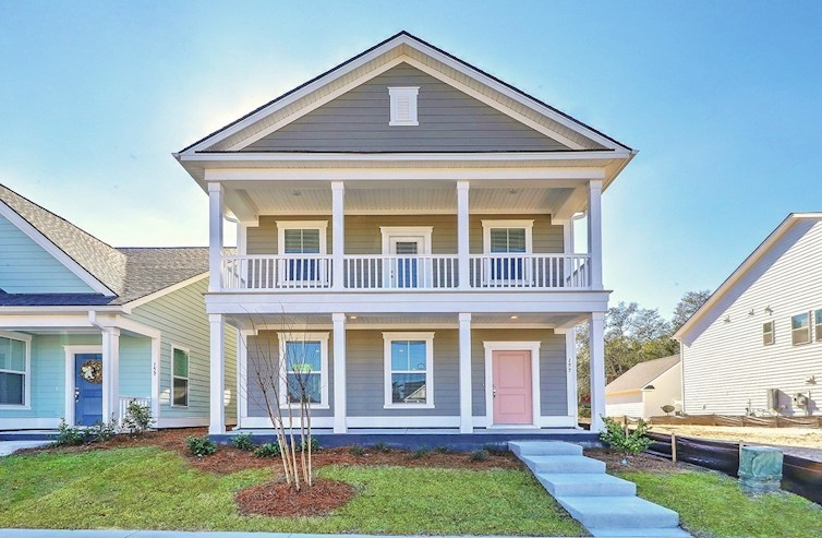 Palmetto Elevation Coastal A quick move-in