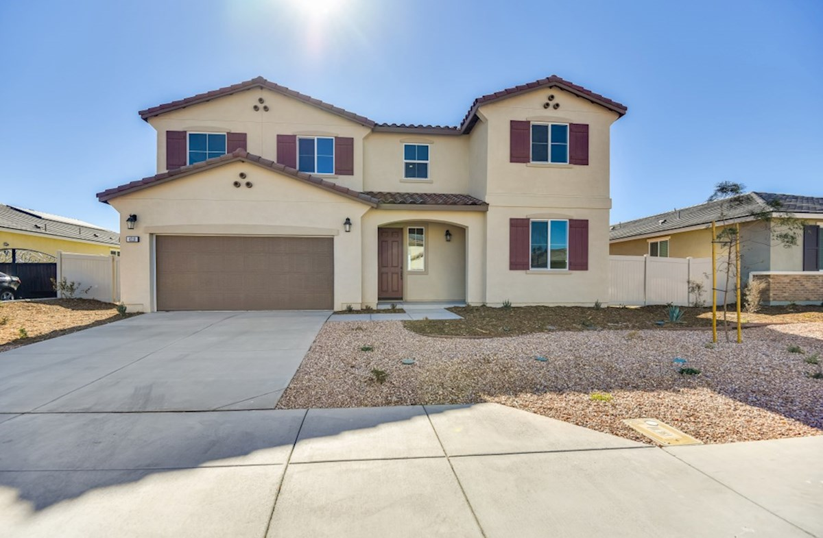Starflower Elevation Spanish Colonial L quick move-in