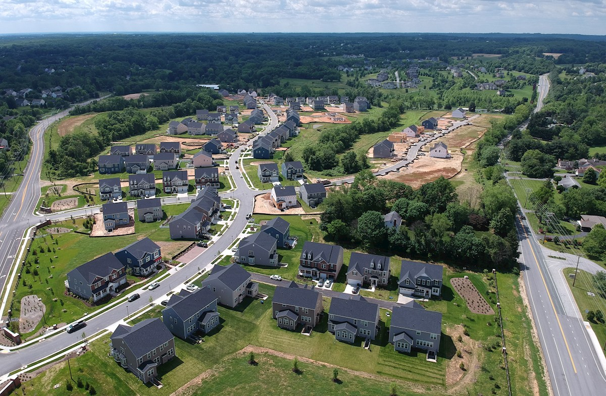 Spectacular community layout with 150 homesites