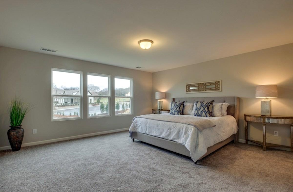 Nichols Vale Garner gracious master bedroom
