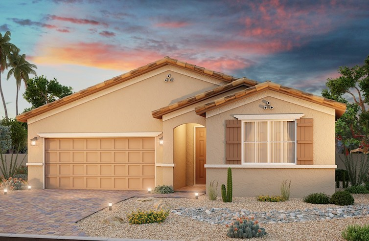 Spanish Colonial Exterior on Willow Plan