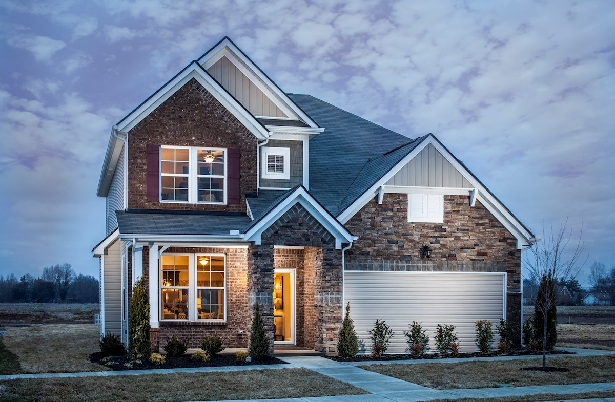 Adelaide Home Plan in Hillwood, Murfreesboro, TN | Beazer Homes ...