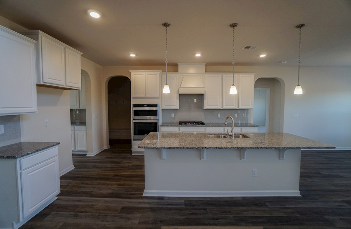 Ivey quick move-in kitchen is open and bright