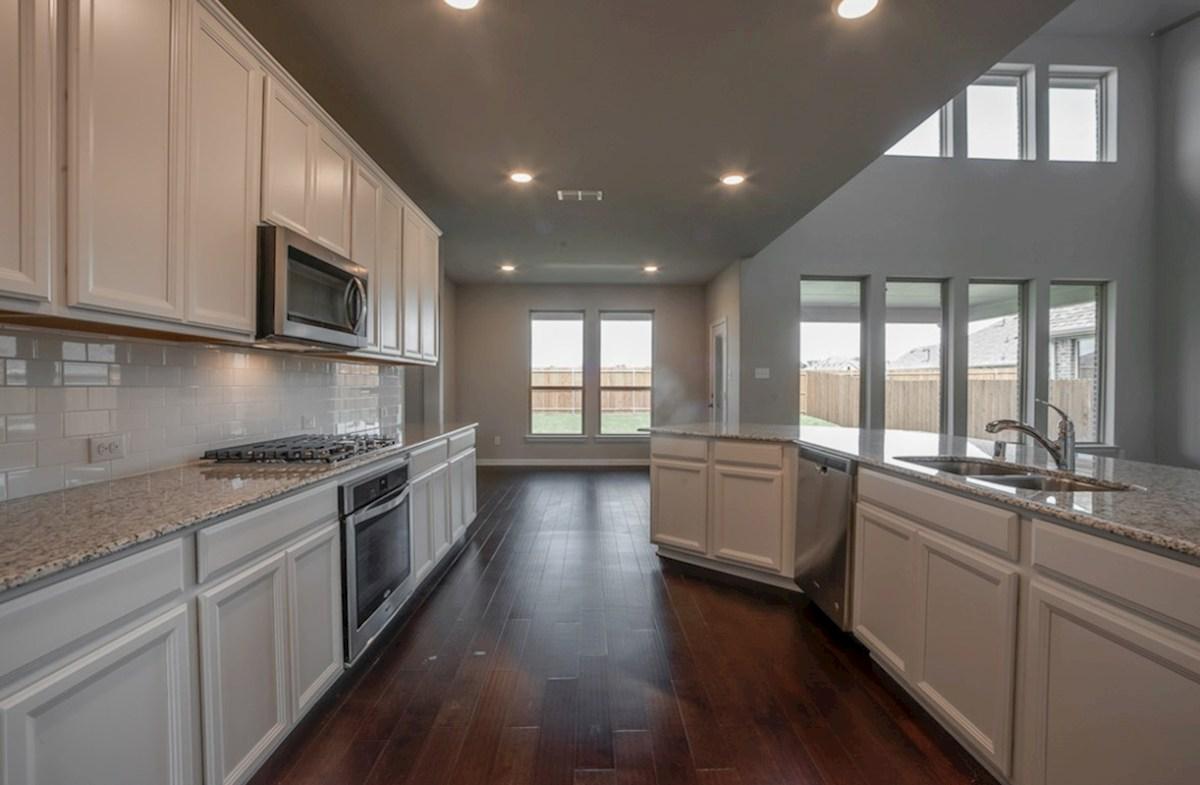 Gruene quick move-in Gruene kitchen includes white cabinets