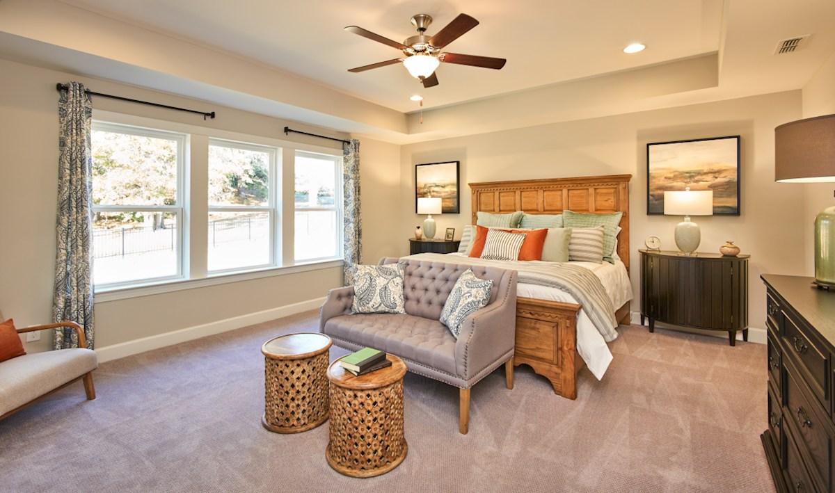 Bridgeport Sage Sage master bedroom