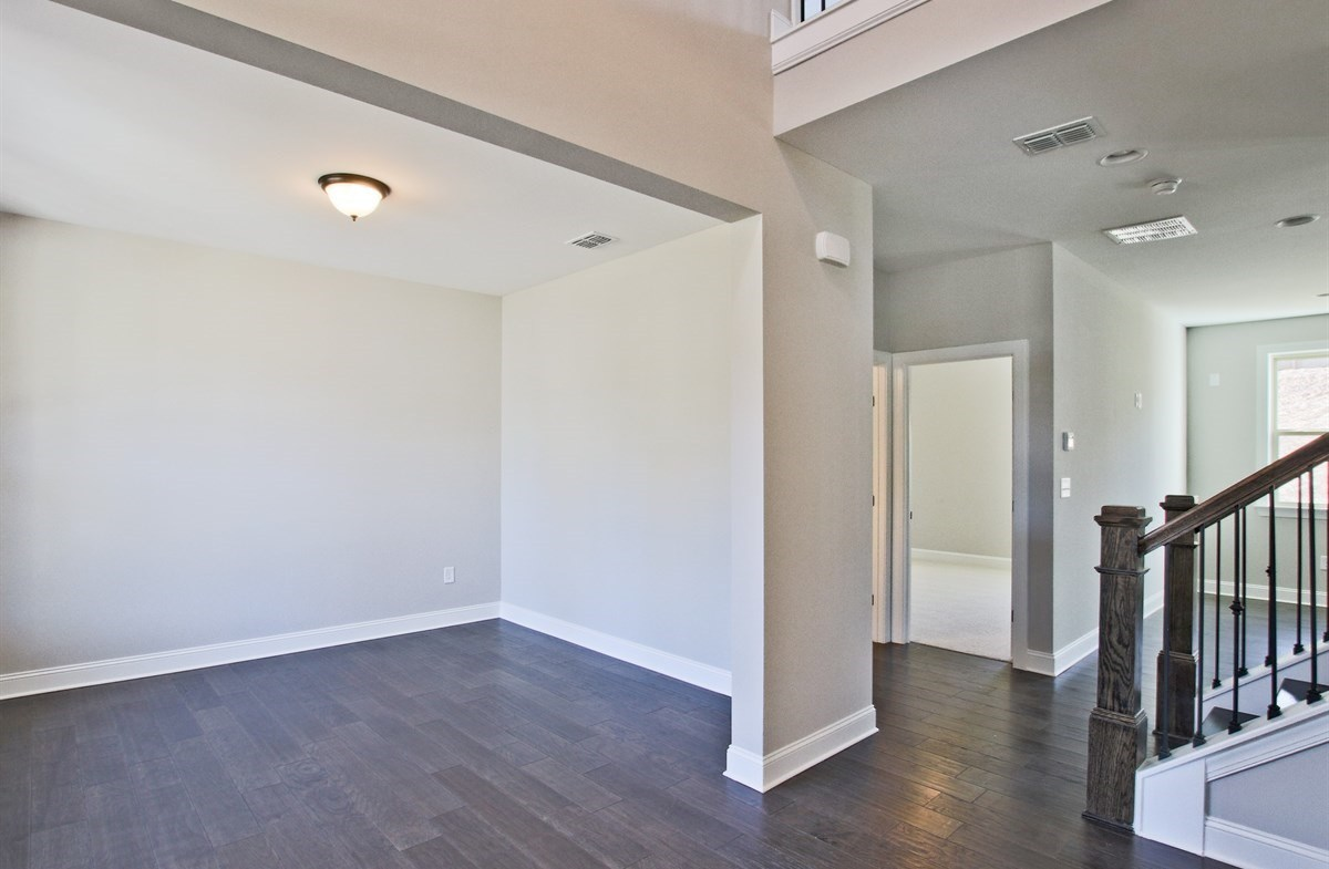 Summit at Towne Lake Manchester Formal Living Room with hardwood floors