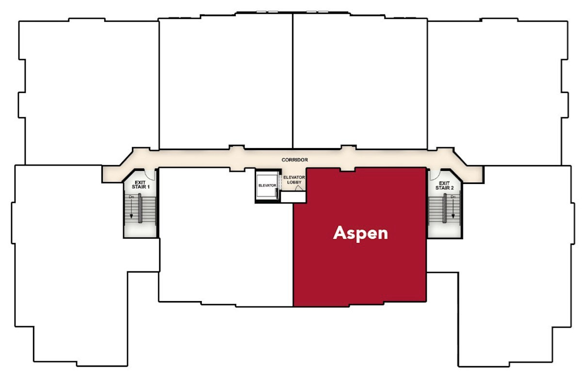 Aspen quick move-in home location