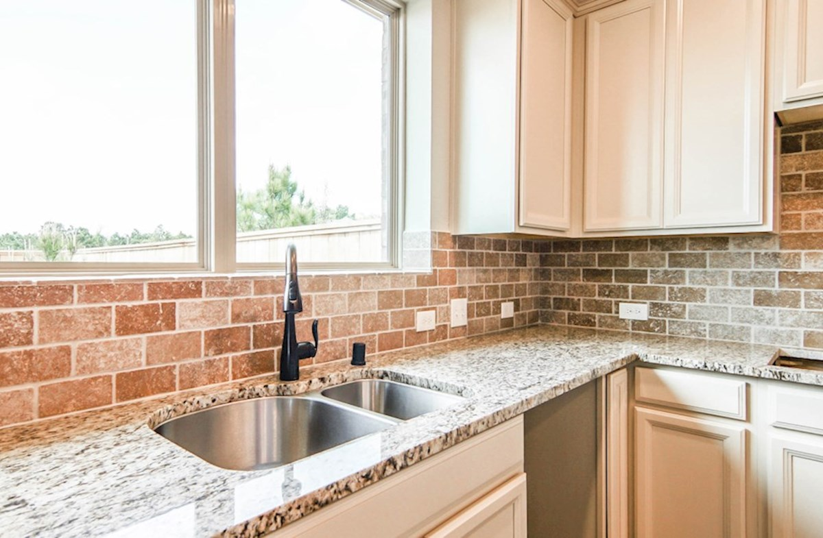Juniper quick move-in light filled kitchen with granite countertops