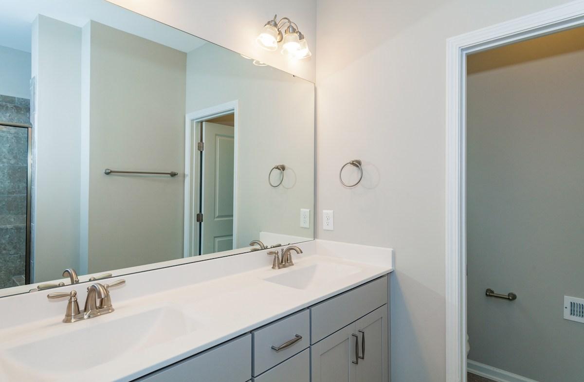 Peak 502 Olive well-appointed master bathroom
