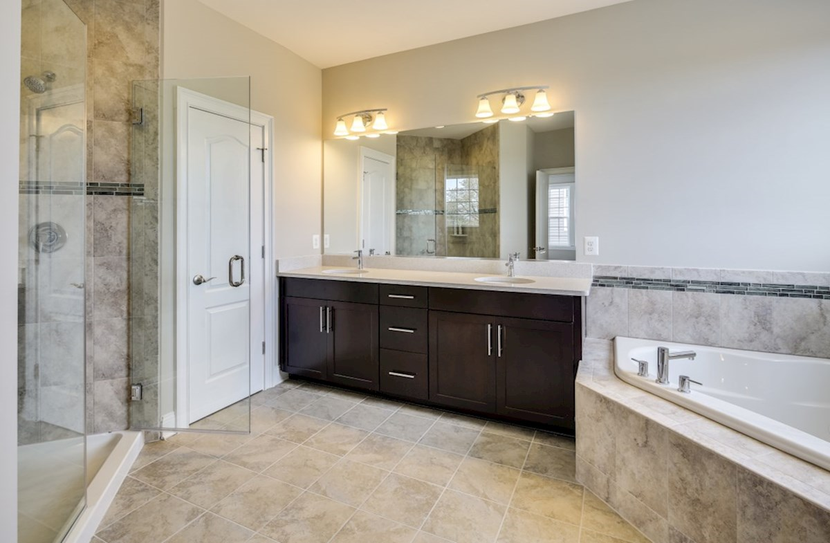 Enclave at River Hill Kingston Kingston Master Bathroom