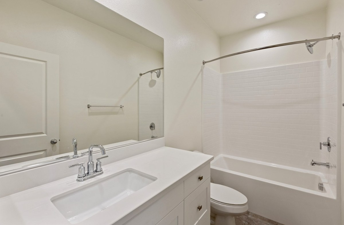 Foxtail quick move-in Secondary bathrooms with abundant cabinet space