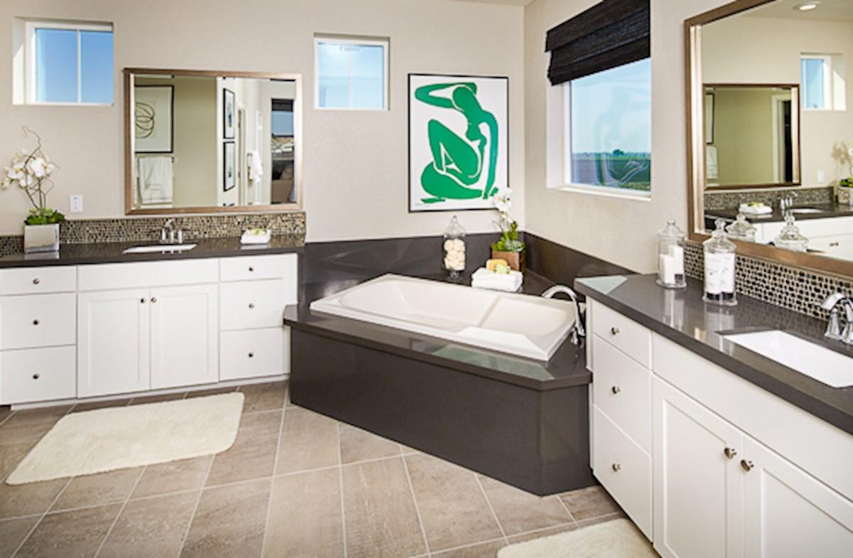 spa-inspired Trinity master bath