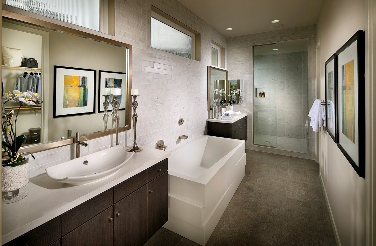 Vermillion at Escena Residence 3 private master bathroom