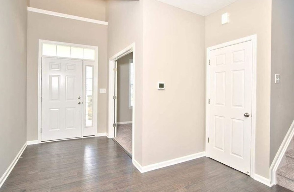 Whitley quick move-in Bright and welcoming foyer