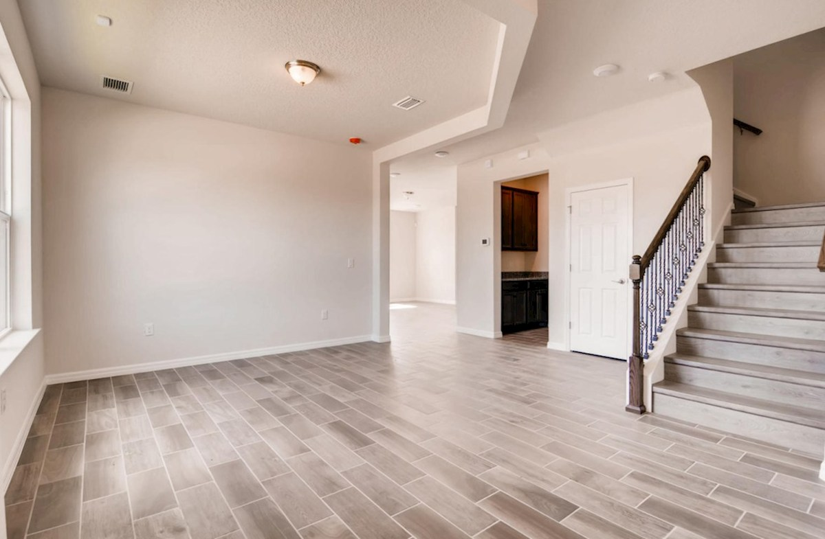 Captiva quick move-in Large dining room and stairs