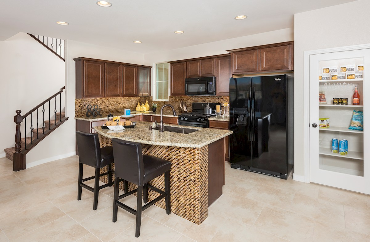 Reliance Collection at Inspirada Bayview Choice Kitchen 'B' with granite countertops