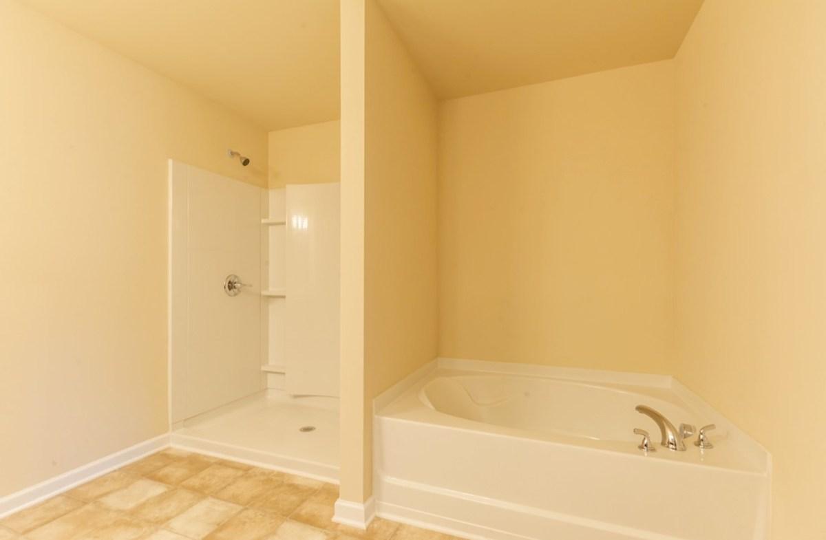 Burton quick move-in Master Bath with soaker tub