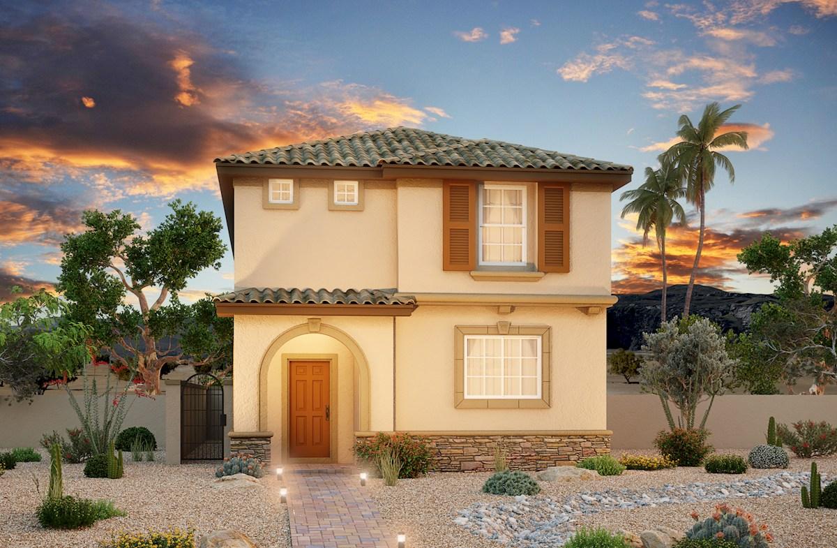 Las Vegas,NV Ravenna at Skye Canyon two-story home