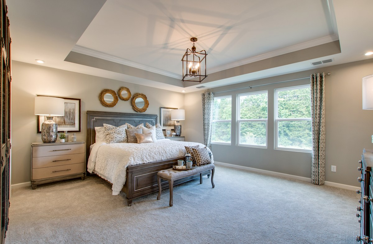 light-filled master bedroom