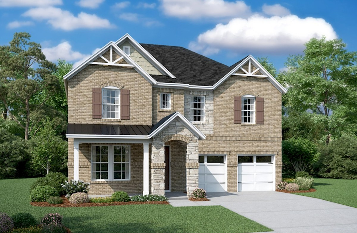Landon II Elevation French Country M