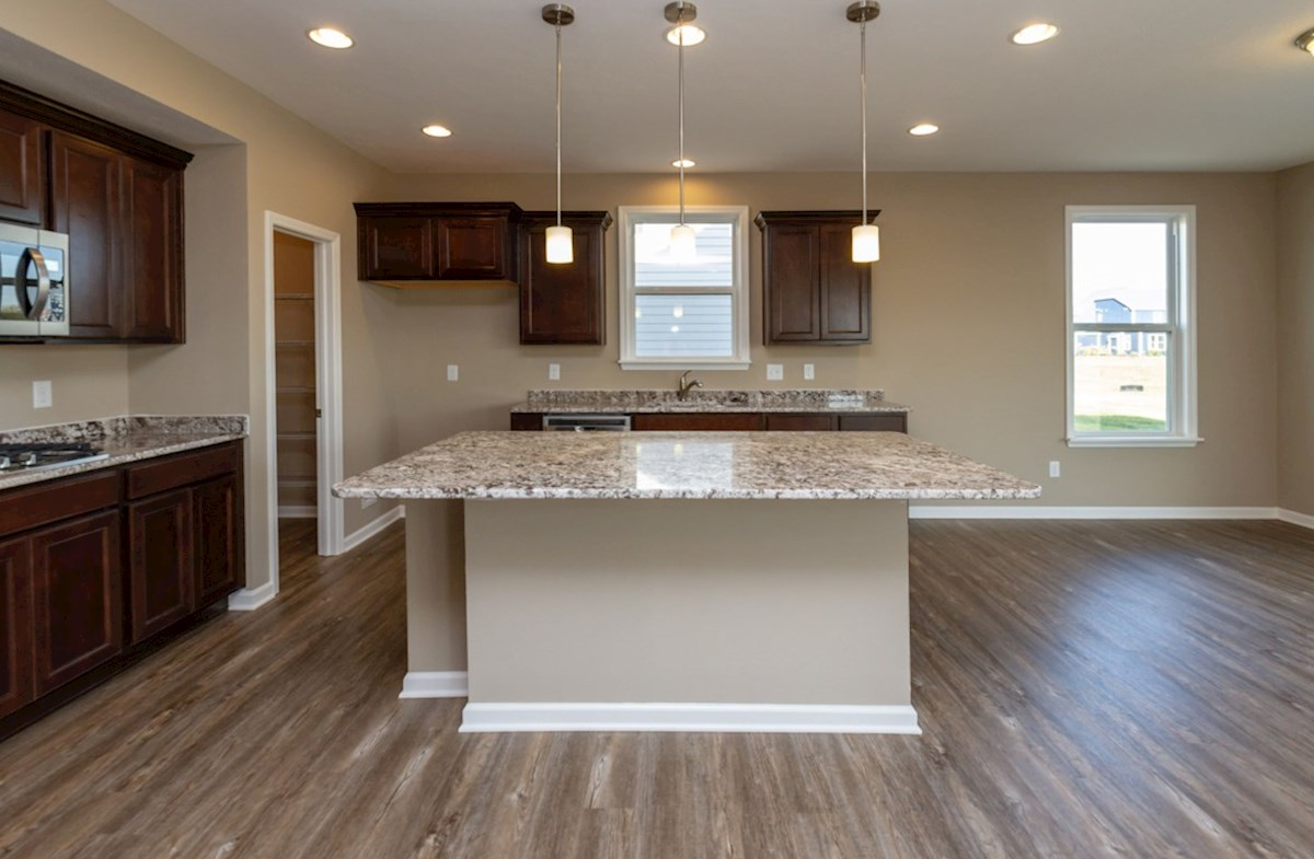 Shelby quick move-in Large kitchen island for casual dining